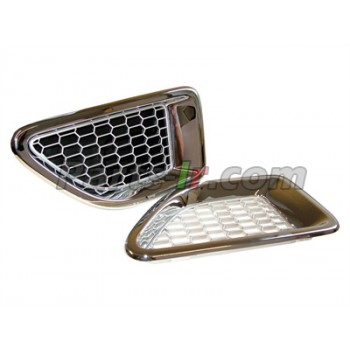 Решетки воздухозаборников хромированные LR006304