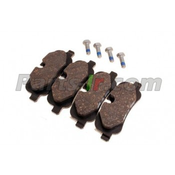 Задние тормозные колодки без зажимов LR055454
