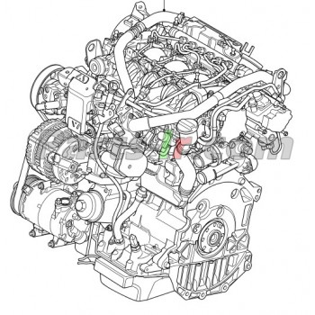 Двигатель 2.2L LR006856, LR012190, LR012191