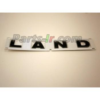 Надпись «LAND» black LR058119