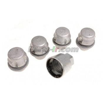Комплект секретных колесных гаек LR078545,  LR011591, LR043820, RRB500060, RRB500070, RRB500100, RRB500120
