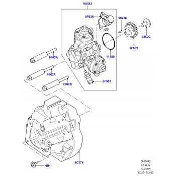 Топливный насос высокого давления LR045642