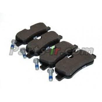 Тормозные колодки без зажимов задние LR021316